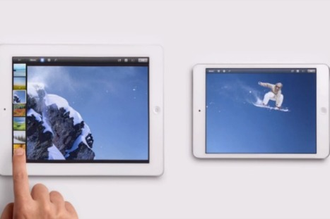 Apple Wants You To Know The iPad Mini is Just Like The Bigger iPad [VIDEOS] | Gadget Shopper and Consumer Report | Scoop.it