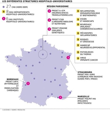 L'incroyable millefeuille de la recherche hospitalière - Les Échos | formation médico social 2013 | Scoop.it