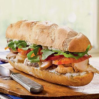 Chicken and Roquefort Sandwiches Recipe | Abiye Modelleri | Scoop.it