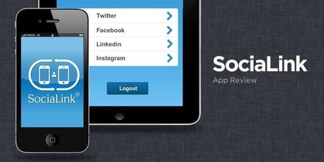 SociaLink App for iPhone & iPad: A Perfect App For Instant Social Media Discovery+Connectivity   Social Media Article Sharing   Scoop.it