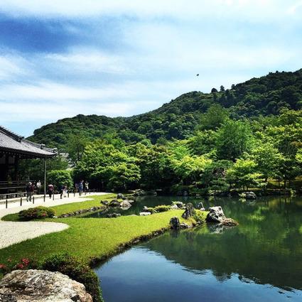 Ishii New York | The beautiful & tranquil gardens at Tenryū-ji... | Zen Gardens | Scoop.it