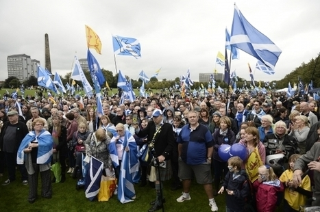 Rally cry to reboot the Yes campaign as thousands gather on Glasgow Green | My Scotland | Scoop.it
