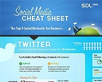 Social Media Cheat Sheet for the Top 9 Networks [Infographic] | inspirationfeed.com | Best Infographics of all time | Scoop.it