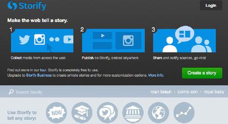 Storify :Usages, Tendances et Utilisations pour Marques et Community Managers | Digital & Mobile Marketing Toolkit | Scoop.it