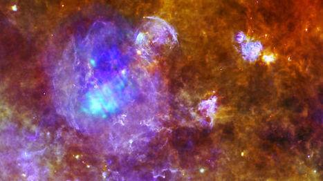 La imagen que refleja como la muerte de una estrella da paso a otras | One more thing | Scoop.it