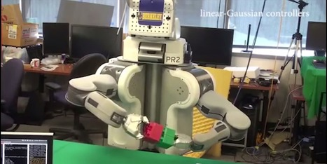 Berkeley robot BRETT uses deep learning to complete tasks | Heron | Scoop.it