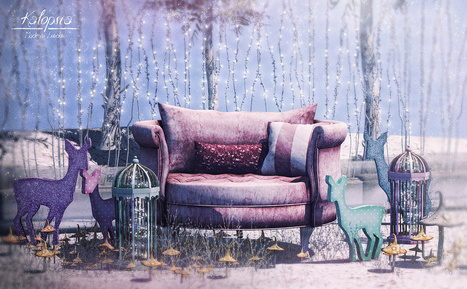 Rosie's Sweet as Sugar set @ C88 | 亗 Second Life Home & Decor 亗 | Scoop.it