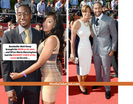 Wanna See WHICH CHICKS . . . The Ballers Brought Onto The RED CARPET . . . At Last Night's ESPY AWARDS - MediaTakeOut.com™ 2012 | GetAtMe | Scoop.it