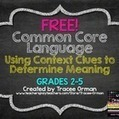 FREE Common Core Vocabulary: Using Context Clues {Grades 2-5} | AdLit | Scoop.it