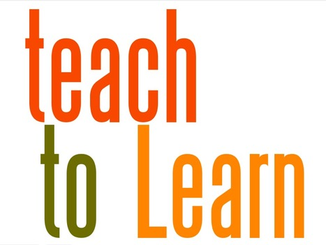 Learning to Teach & Teaching to Learn | Teaching to Learn and Learning to Teach | eduMOOC 4 ALL | Scoop.it