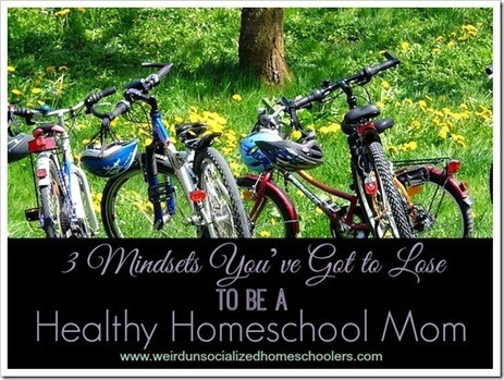3 Mindsets You've Got to Lose to be a Healthy Homeschool Mom - Weird Unsocialized Homeschoolers | Wellness Life | Scoop.it