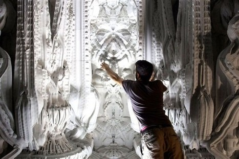 Architects 3D Print Room Using Only Computer Algorithms - Sourceable | computing | Scoop.it