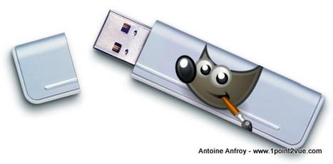Installer Gimp sur une clef USB pour l'utiliser n'importe où | Ca m'interpelle... | Scoop.it