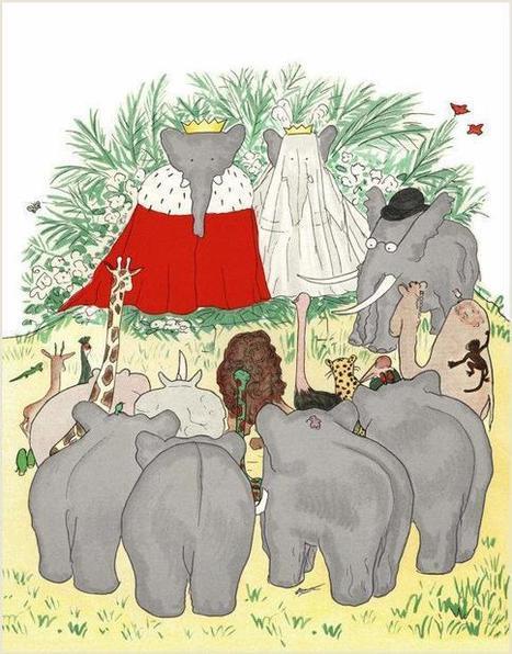 Babar. Todas las historias. Jean de Brunhoff | Ilustracion | Scoop.it