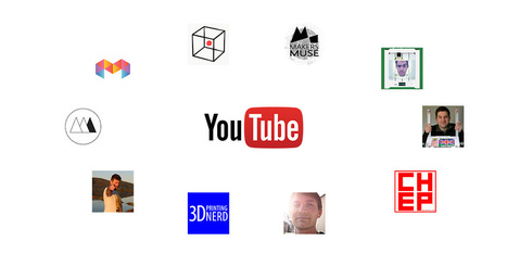 The ultimate list of the best 3D printing Youtube channels | Digital Design and Manufacturing | Scoop.it