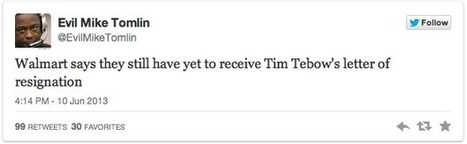 Tim Tebow to Patriots Twitter Reaction   Sports   Scoop.it