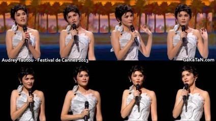 Photos : Audrey Tautou sexy pour l'ouverture du Festival de Cannes 2013 | Radio Planète-Eléa | Scoop.it