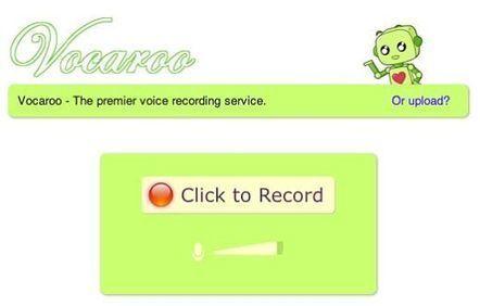 Vocaroo, para grabar y compartir mensajes de voz | Aplicaciones para crear | Scoop.it