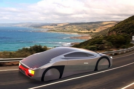 Immortus : un concept de voiture solaire autonome en énergie | Efficycle | Scoop.it