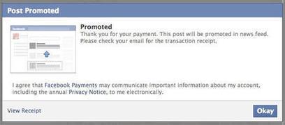 How To Convert Visitors from Facebook Promoted Posts into Customers | Tout sur les réseaux sociaux | Scoop.it