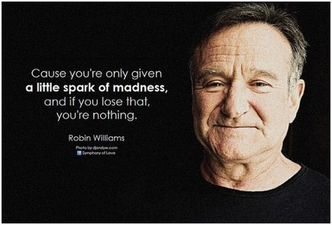 What Robin Williams' Most Famous Quotes Can Teach Us About Digital Marketing - Search Engine People (blog) | Business Tools | Scoop.it