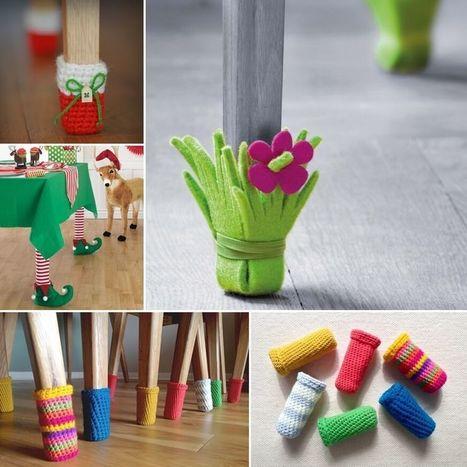 10 Cute DIY Furniture Leg Protector Ideas | Amazing interior design | Scoop.it