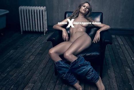 Naked Anna Ewers Debuts Women's Denim Line in Alexander Wang Provocative Ads | Best Fashion Week | Scoop.it