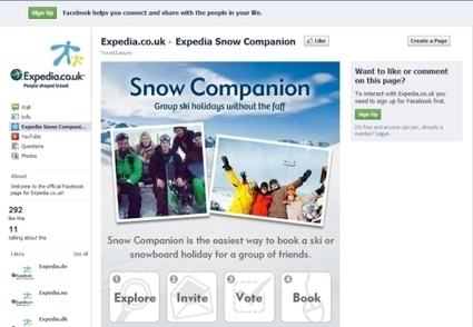 Expedia hones in on ski with Snow Companion app for Facebook | Tnooz | Matkailu verkossa | Scoop.it
