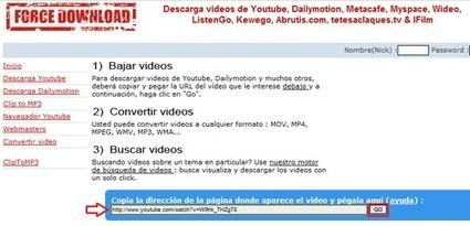 Bajar videos de YouTube al PC sin instalar ningún programa | E-Learning, M-Learning | Scoop.it
