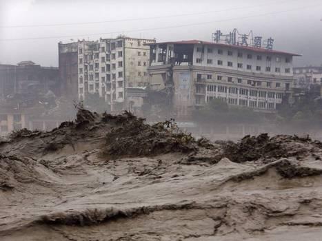 Devastating floods in China trigger huge landslide, burying 40 - The Independent   Natural Disasters   Scoop.it