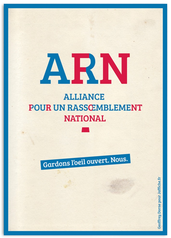Le Front National change de nom, quand le FN devient ARN | Baie d'humour | Scoop.it