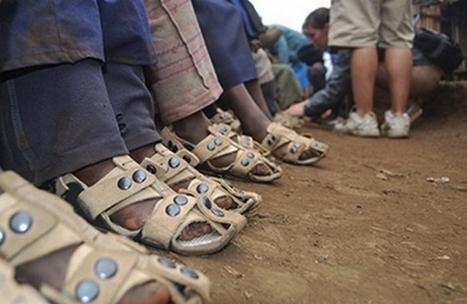 Une chaussure durable pour les 300 millions d'enfants pieds nus   Efficycle   Scoop.it