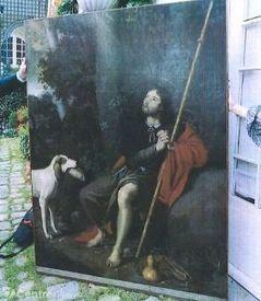 Le tableau de Saint Roch, disparu dans les années 50, va revenir à Aurillac | Auvergne Patrimoine | Scoop.it