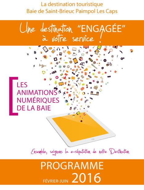 Les ateliers numériques de la destination touristique Baie de Saint-Brieuc Paimpol Les Caps : une destination engagée au service des professionnels du tourisme   So' Saint-Quay-Portrieux   Scoop.it