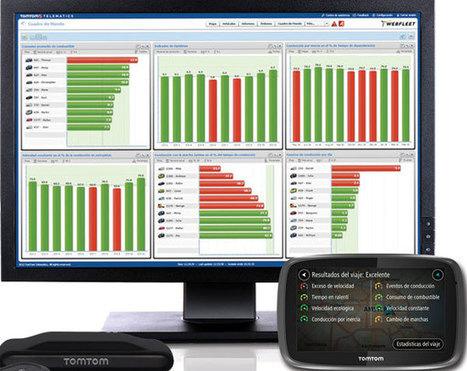 TomTom incorpora consejos predictivos a su WebFleet OptiDrive - ESMARTCITY | Big and Open Data, FabLab, Internet of things | Scoop.it