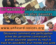 Combien y a-t-il de pauvres? - Mouvement International ATD Quart Monde | 17 Octobre Journée mondiale du refus de la misère | Scoop.it