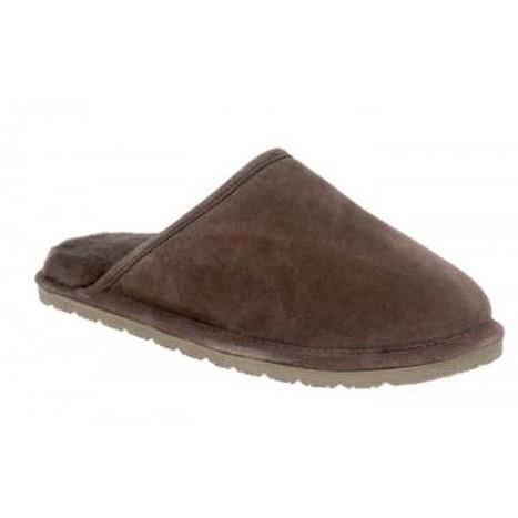 Stylish Daniel slipper suede upper sheepskin lining rubber sole   Sheepskin Slippers and Boots   Scoop.it