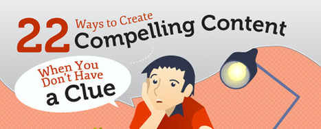 22 tips for creating content when you are out of ideas | Social Media Marketing | Scoop.it