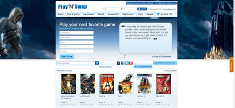 Play'N'Swap - Trade video games for free! | Trade Video Games | Scoop.it