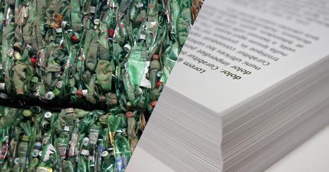 Les bouteilles en plastique que vous jetez à la poubelle peuvent désormais être recyclées en papier | Ca m'interpelle... | Scoop.it