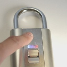 The lock with fingerprint scanner | Science and Technology | Scoop.it
