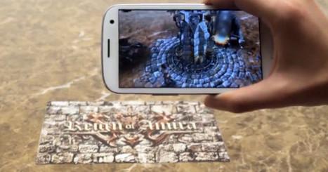 Vuforia: cómo nuestro Smartphone puede ampliar la realidad que vemos   Augmented Reality & VR Tools and News   Scoop.it