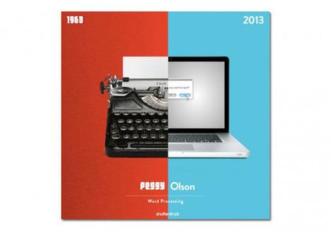 Le matériel d'une agence de pub de 1963 visite l'année 2013 ... | Que s'est il passé en 1963 ? | Scoop.it