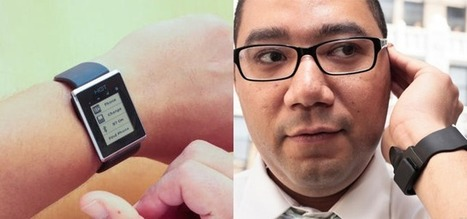 Smartwatch turns user's hand into a phone | Digital slices | Scoop.it