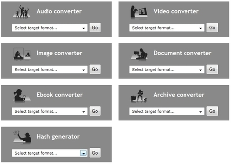 Convierte archivos de todo tipo desde la web Online Convert   Recull diari   Scoop.it