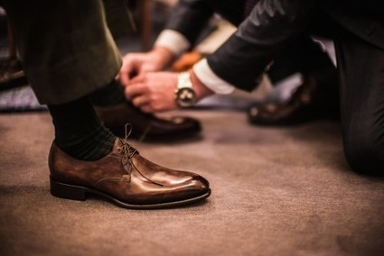 Bespoke Santoni shoes – Fatto a Mano Su Misura | Le Marche & Fashion | Scoop.it