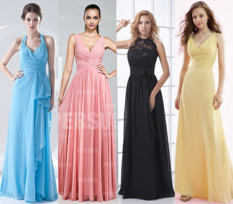 Top 10 Colors for Spring/Summer Bridesmaid Dresses 2015 | dressesfashion | Scoop.it