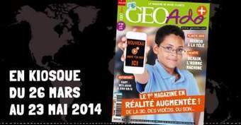 GéoAdo, le magazine de Milan Presse se met à la Réalité Augmentée   Culture augmentée - Augmented culture   Scoop.it