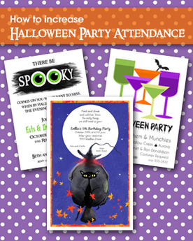 How to Increase Halloween Party Attendance | Party Invitations | Scoop.it