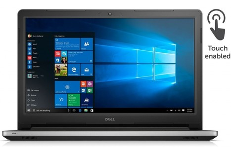 Dell Inspiron 15 i5559-4682SLV Signature Edition Touch Laptop Review | IPad pilot3 | Scoop.it